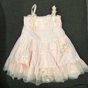 Kate Mack Other - ⬇️Kate Mack gorgeous dress w flower detail 18 ms