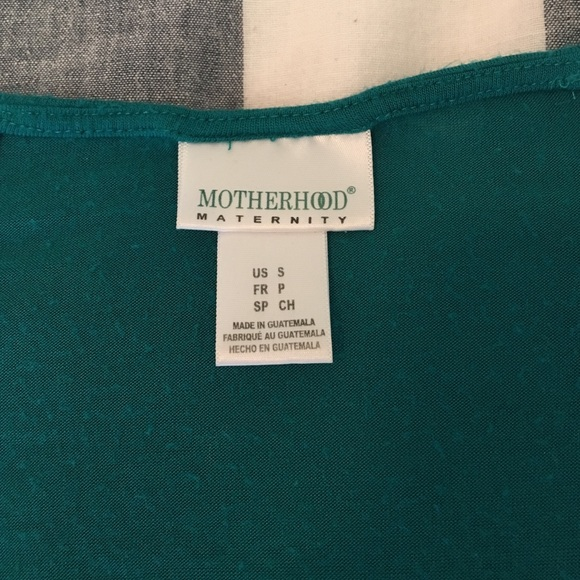 Motherhood Maternity Tops - Teal Maternity Top