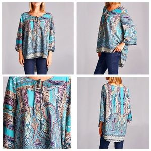 Tops - HOST PICK Beautiful Bohemian Top no stretch