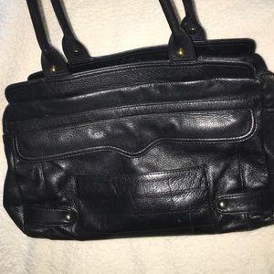 Black rebecca minkoff purse
