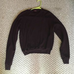 Brandy Melville maroon pullover