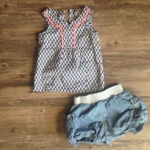 Carter's Other - Carter's Baby/Toddler Sleeveless Top & Shorts