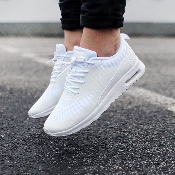 huge selection of 66cbb 0d3c6 Womens Nike Air Max Thea Sneakers White