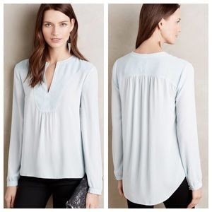 Anthropologie Tops - LAST ONE❗️NWOT Anthropologie split neckline top