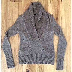 EUC J. Crew Crowl Oatmeal Sweater