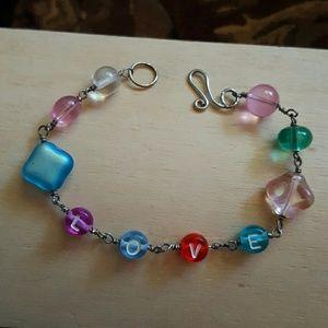 "⤵Child's bracelet ""Love"""