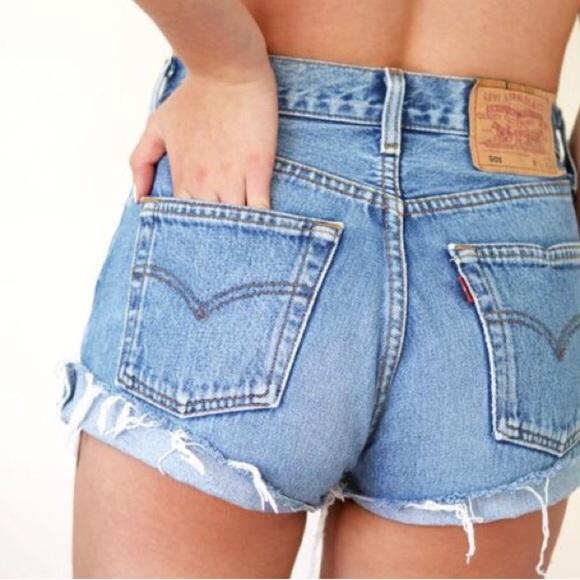 vintage levis shorts 501