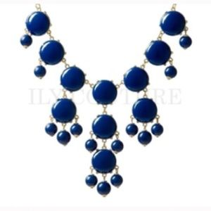 Ily Couture Jewelry - Ily Couture Navy Bubble Necklace
