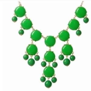 Ily Couture Jewelry - Ily Couture Green Bubble Necklaces