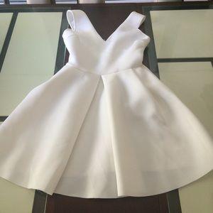 Aqua Scuba Dress