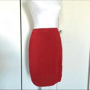 Stizzoli Dresses & Skirts - Nwot Stizzoli red knitted skirr size M