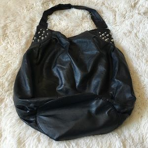 H&M Faux Leather Studded Bag Tote