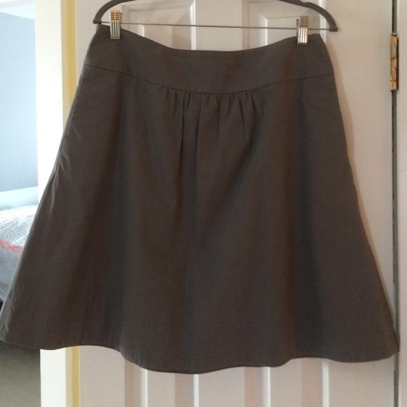69 j crew dresses skirts j crew gray a line