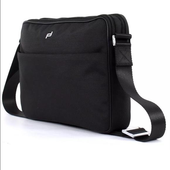 d4b3f2e5eb55  SALE NWT! PORSCHE laptop bag! Authentic!