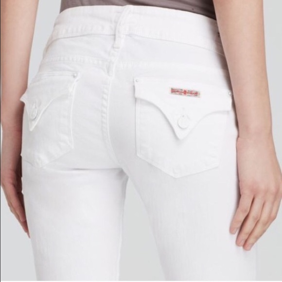 48% off Hudson Jeans Denim - New HUDSON JEANS White BETH Bootcut ...