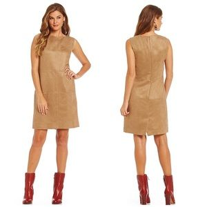 Cremieux Dresses & Skirts - Cremieux Faux Suede Dress
