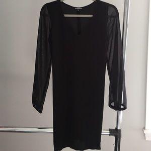 Express Dresses & Skirts - Black express shift dress NWOT