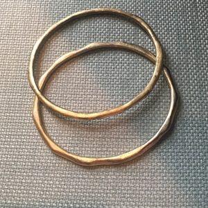 Antique gold bangle bracelets 