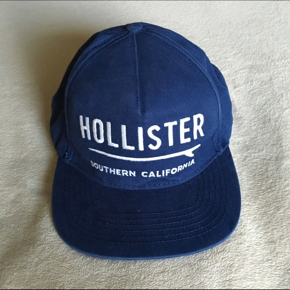 Hollister Other - Hollister SnapBack Cap   Hat Navy Blue a55a55c4455