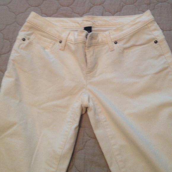 85% off Victoria's Secret Pants - Victoria's Secret Siren Ivory ...