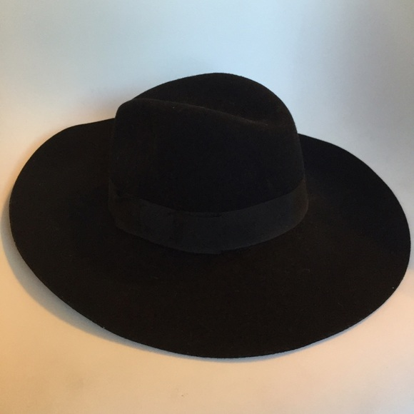e6c1bea0 Brixton Accessories | Black Felt Hat | Poshmark