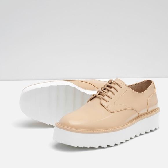 0b0e26ee4ad0 ZARA Platform Shoes BRAND NEW