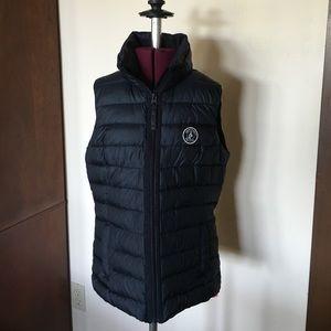 Abercrombie Black Puffer Vest M