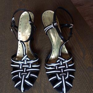 Shoes - Bcbg girls black and white