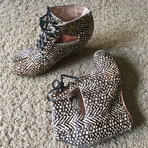 80%20 calf hair animal print platform bootie