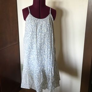 Gap Other - Gap Kids Blue White Cotton Sun Dress L 10