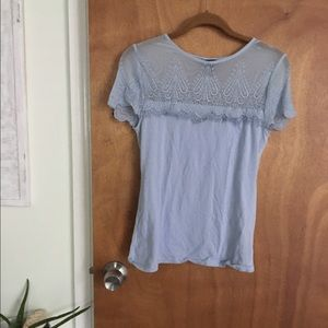 H&M Tops - SOLD // Light blue t-shirt