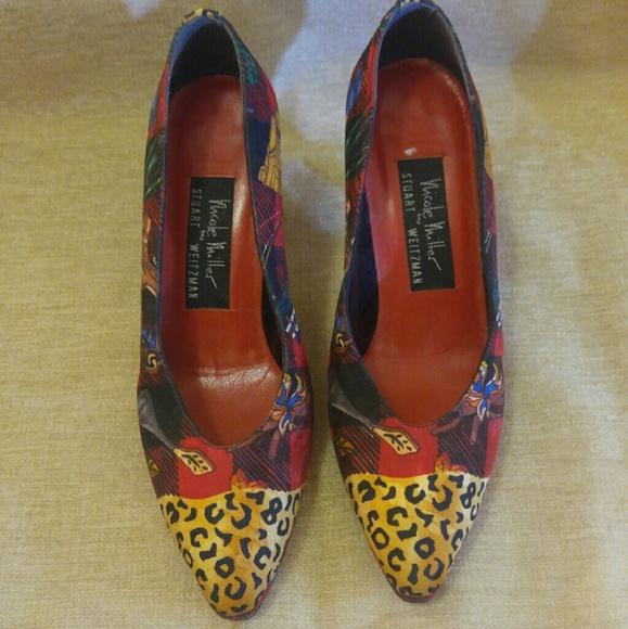 Nicole Miller Shoes - Nicole Miller by Stuart Weitzman heels