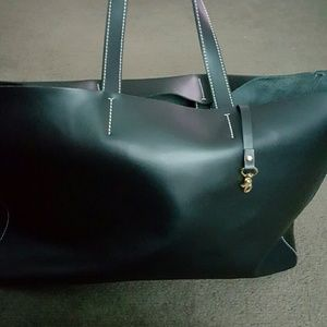 alberta di canio Handbags - Very Large black Alberta di Canio leather tote