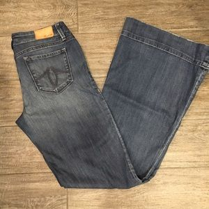 Denim - Level 99 Wide Leg Jeans