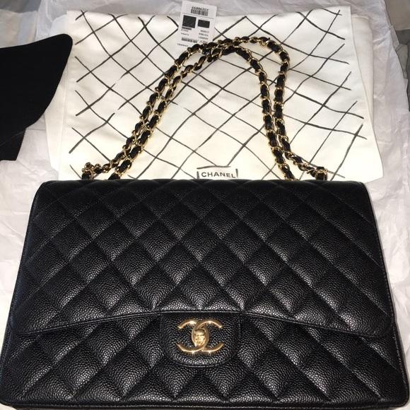 d14115fc392c5c Chanel Bags | Classic Flapbag Blackburgundy | Poshmark