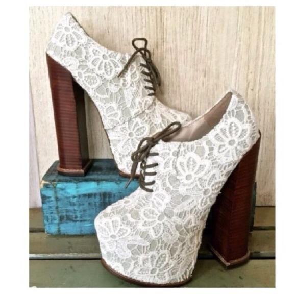 5386dbf20e1 Dolce Vita Shoes - Brand new dv8 dolce vita white lace heels
