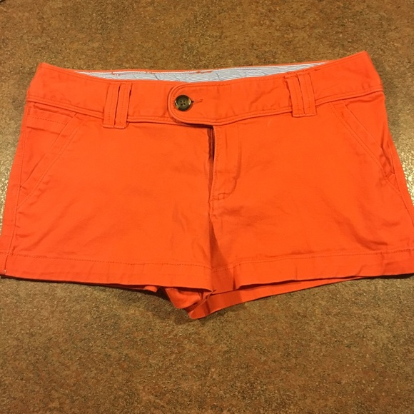79% off Red Camel Pants - Juniors orange shorts from Brittney's ...