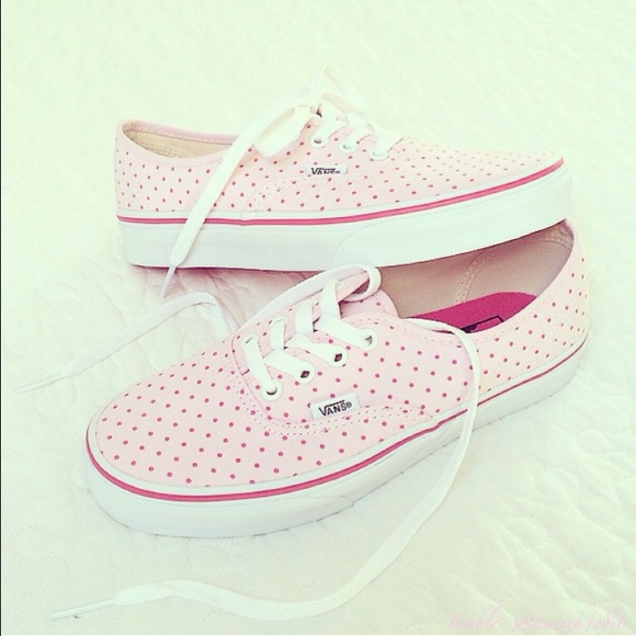 Vans Light Pink Vans Shoes | Li...
