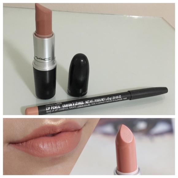 Verbazingwekkend MAC Cosmetics Makeup | Mac Honeylove Lipstick Naked Liner | Poshmark OQ-77