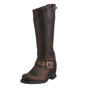 Frye Women's Engineer 15R Leather Boots 6M