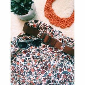Zara Dresses & Skirts - 🌿Zara Patterned Mini Skirt