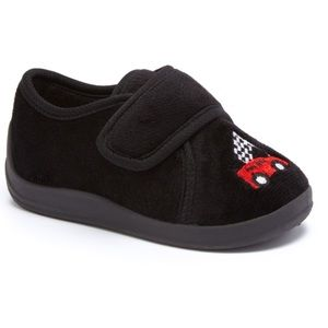 Zac & Evan Other - 🎈BOGO 1/2 🎈 Black Race Car Slippers.