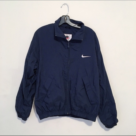 4f0595fceda5 Nike Navy Windbreaker Jacket. M 57bcf3cebcd4a77df500851f