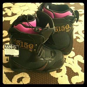 5150 Shoes - 5150 Dynasty Snowboard Boots