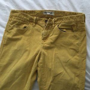 Madewell Pants - Madewell skinny skinny ankle cords