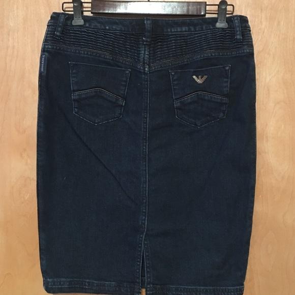 70a06cc59 Armani Jeans Skirts   Skirt   Poshmark
