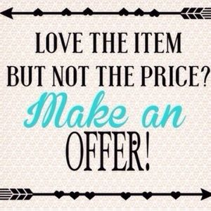 Accessories - ALL prices are negotiable! ❤️