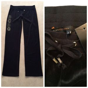 BCBGMaxAzria Pants - BCBG Velour Lounge Casual Active Wear NWT M