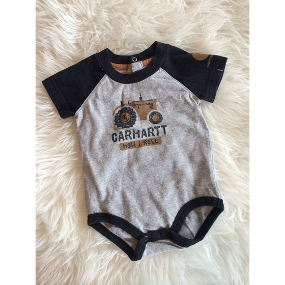 ada987207 Carhartt One Pieces | Gray Thats How I Roll Onesie | Poshmark