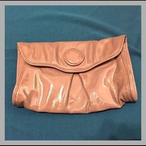 Handbags - Taupe Clutch